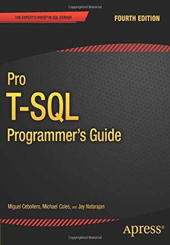 Pro T-SQL Programmer's Guide free download