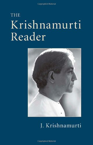 The Krishnamurti Reader free download