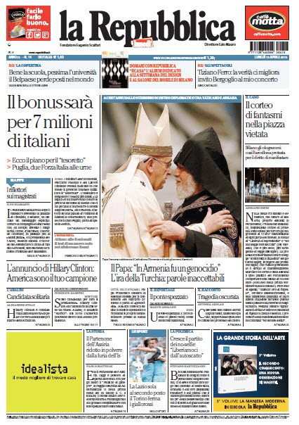 La Repubblica - 13.04.2015 free download