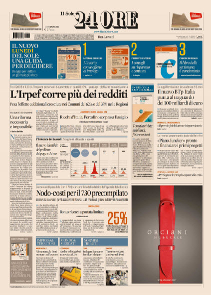 Il Sole 24 Ore - 13.04.2015 free download