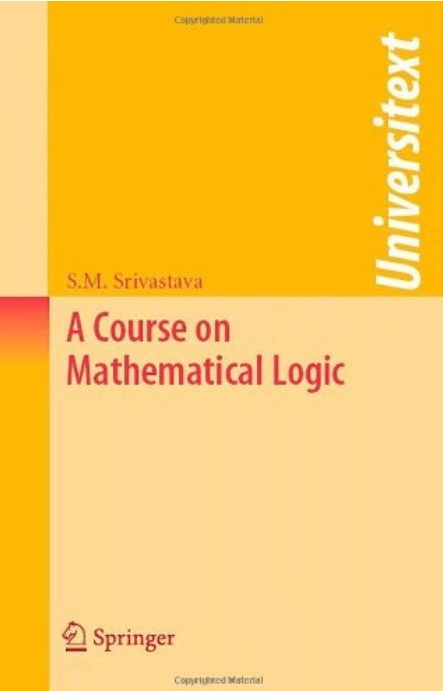 A Course on Mathematical Logic free download