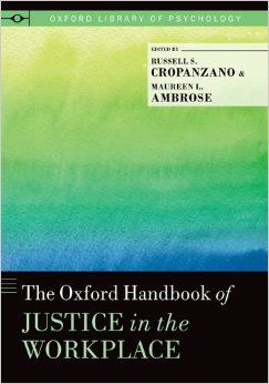 The Oxford Handbook of Justice in the Workplace free download