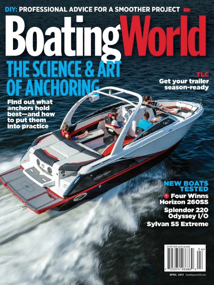 Boating World - April 2015 free download