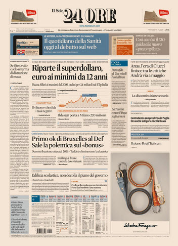 Il Sole 24 Ore - 14.04.2015 free download