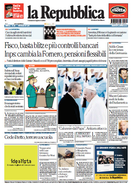 La Repubblica - 14.04.2015 free download