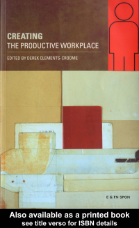 Creating the Productive Workplace free download