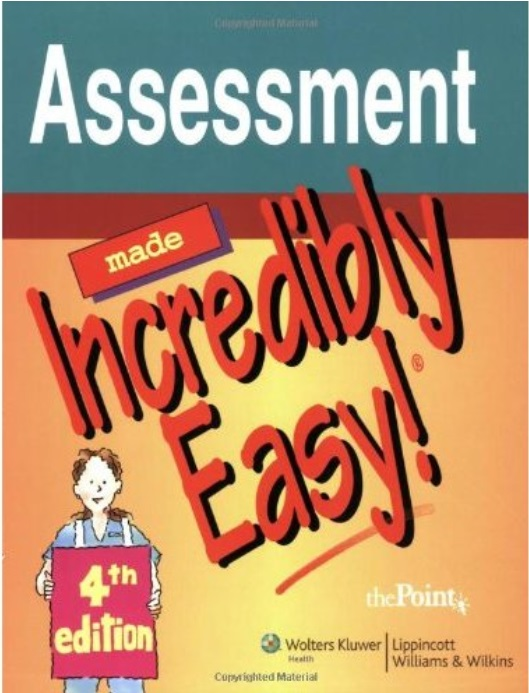 Assessment Made Incredibly Easy! (4th edition) free download