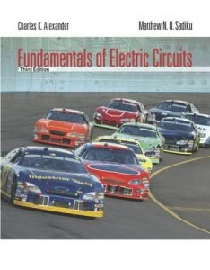 Fundamentals of Electric Circuits, 3rd Edition free download