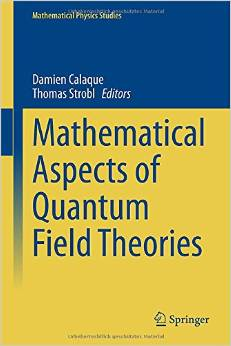 Mathematical Aspects of Quantum Field Theories (Mathematical Physics Studies) free download