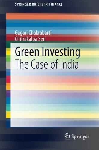Green Investing: The Case of India free download