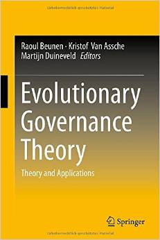 Evolutionary Governance Theory: Theory and Applications free download