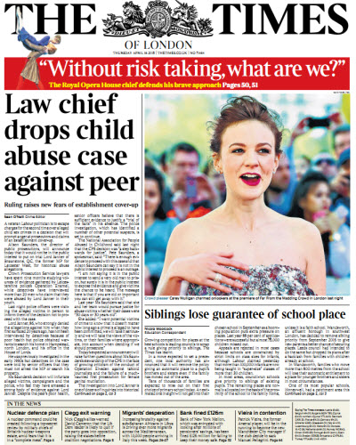 The London Times April 16 2015 free download