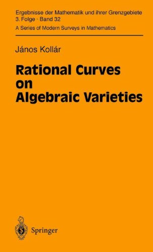 Rational Curves on Algebraic Varieties free download