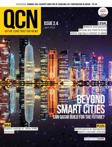 Qatar Construction News - April 2015 free download