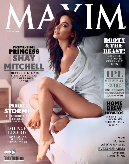 Maxim India - April 2015 free download