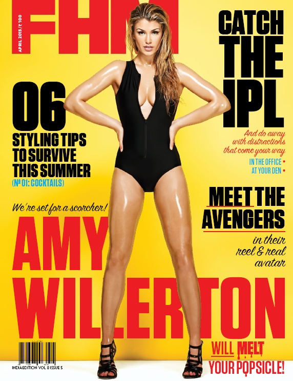 FHM India - April 2015 free download