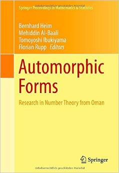 Automorphic Forms: Research in Number Theory from Oman free download
