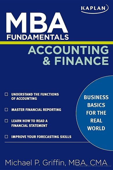 MBA Fundamentals Accounting and Finance free download