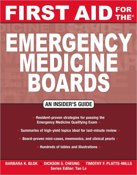 First Aid for the Emergency Medicine Boards free download