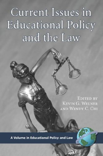 Current Issues in Educational Policy and the Law free download
