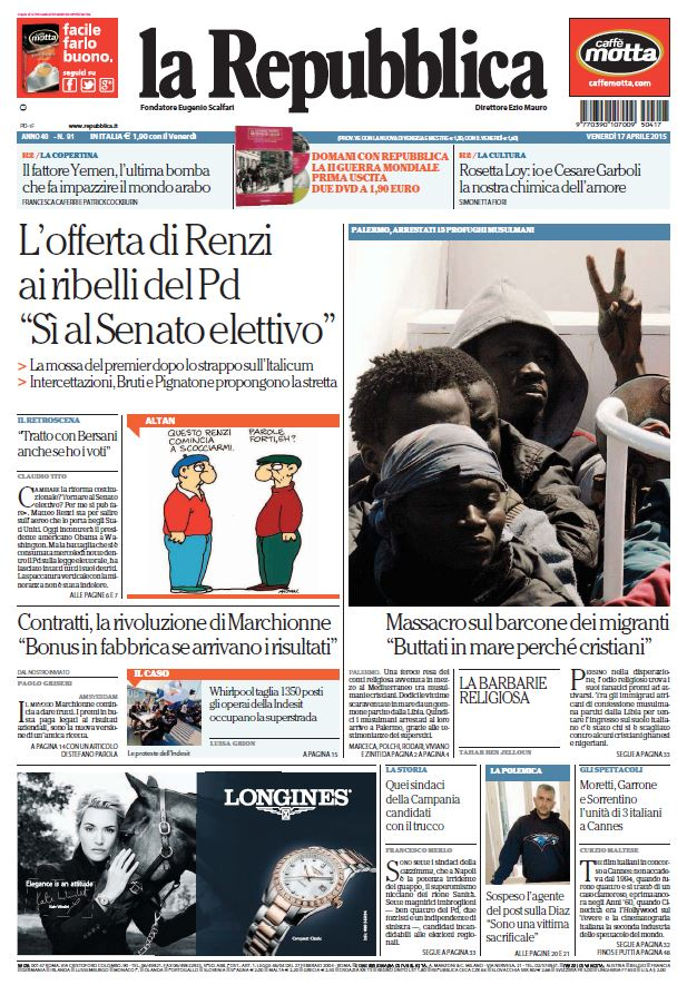 La Repubblica (17-04-15) free download