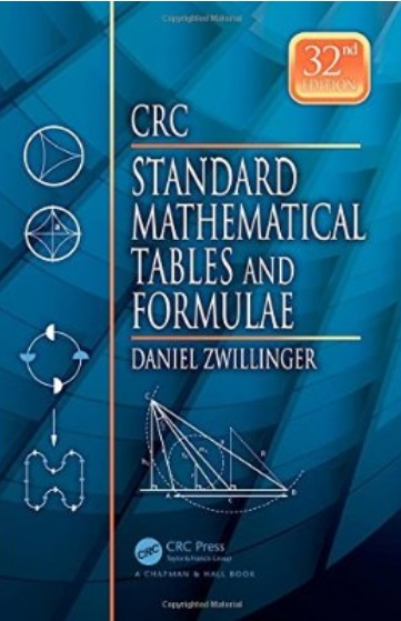 CRC Standard Mathematical Tables and Formulae (32nd Edition) free download