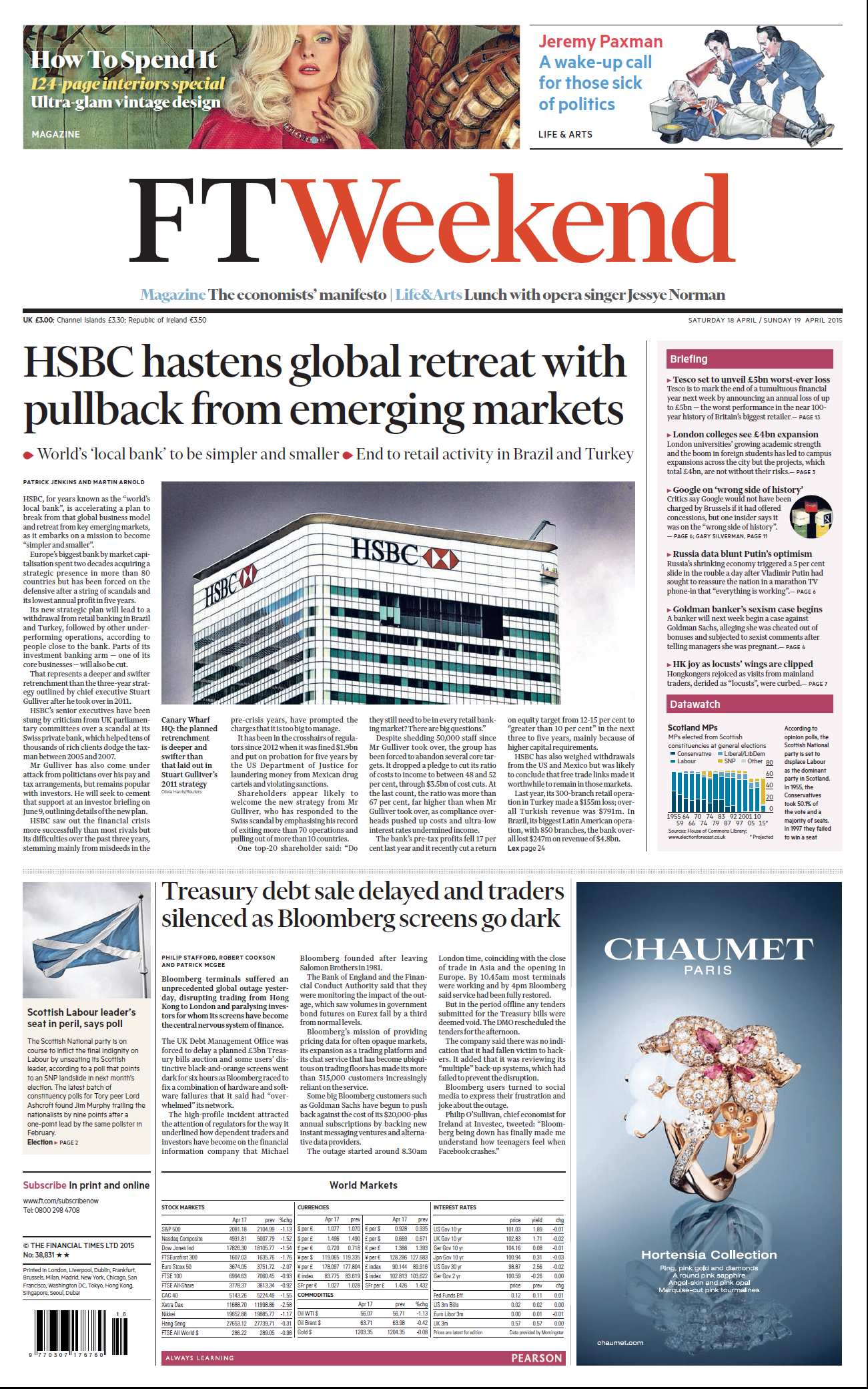 Financial Times UK  April 18, 2015 free download