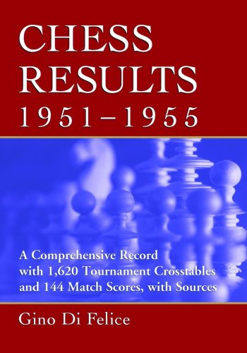 Chess Results, 1951-1955 free download