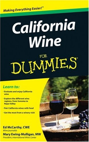 California Wine For Dummies free download