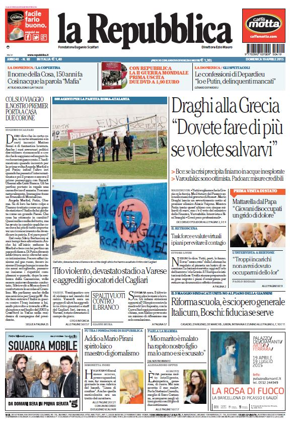 La Repubblica (19-04-15) free download