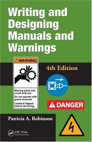 Writing and Designing Manuals and Warnings 4e free download