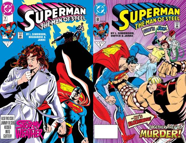 Superman - The Man of Steel #7-8 (1992) free download