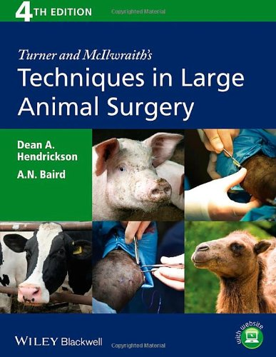Turner and McIlwraith's Techniques in Large Animal Surgery, 4th Edition free download