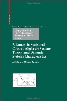 Advances in Statistical Control, Algebraic Systems Theory, and Dynamic Systems Characteristics free download