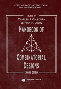 Handbook of Combinatorial Designs, 2 edition free download