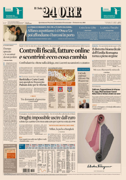 Il Sole 24 Ore - 22.04.2015 free download
