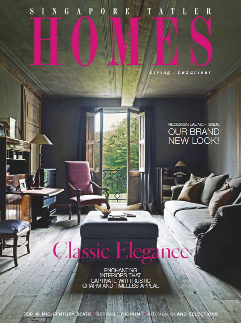 Singapore Tatler Homes Magazine April/May 2015 free download