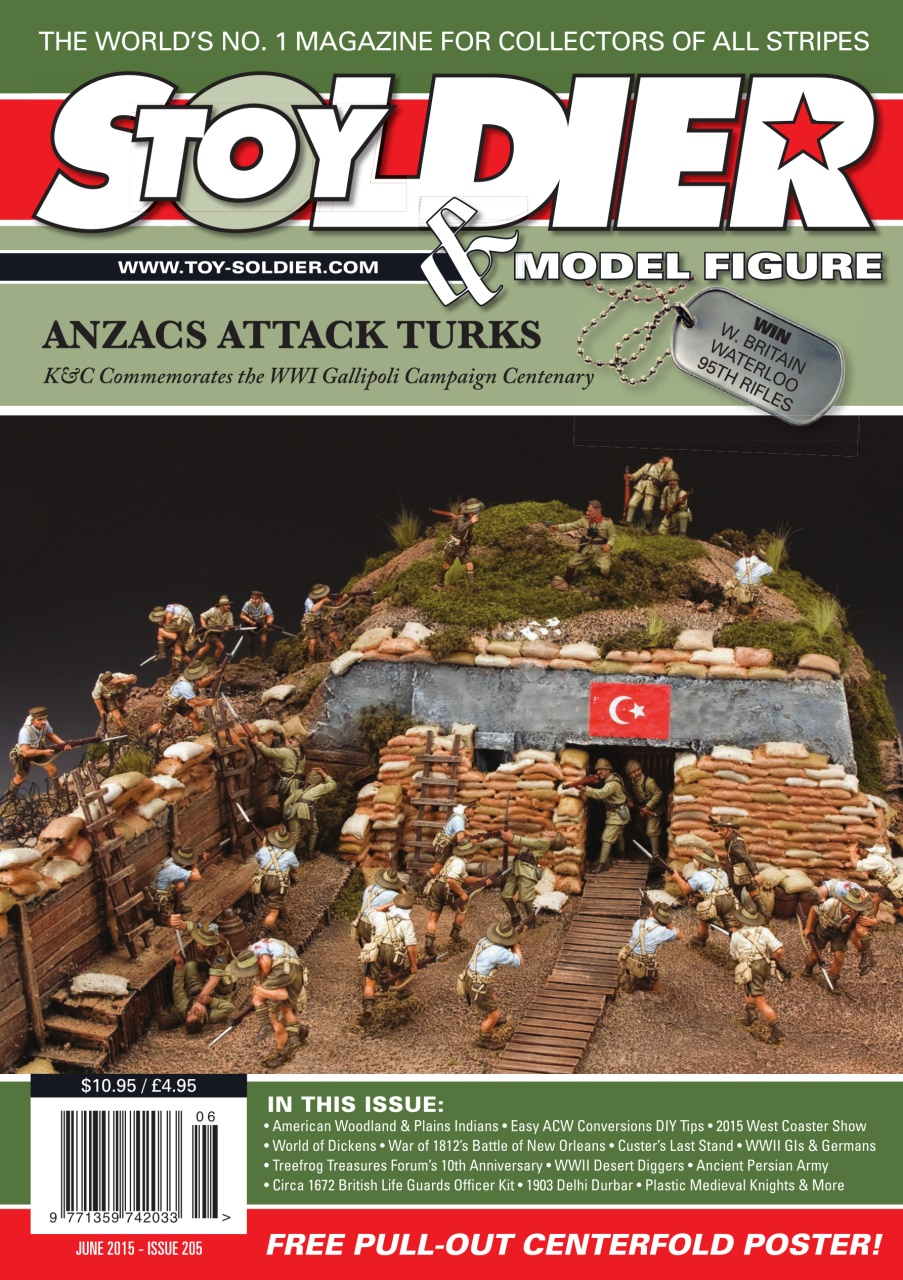 Toy Soldier & Model Figure - June 2015 free download