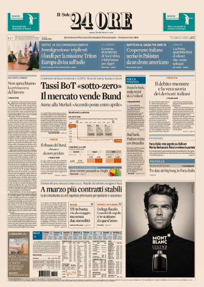 Il Sole 24 Ore - 24.04.2015 free download
