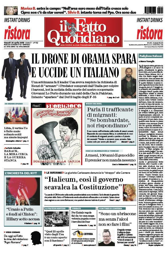 Il Fatto Quotidiano (24-04-15) free download
