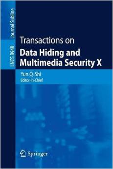 Transactions on Data Hiding and Multimedia Security X free download