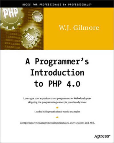A Programmer's Introduction to PHP 4.0 free download