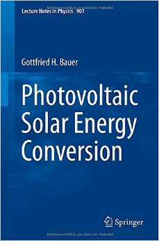 Photovoltaic Solar Energy Conversion free download