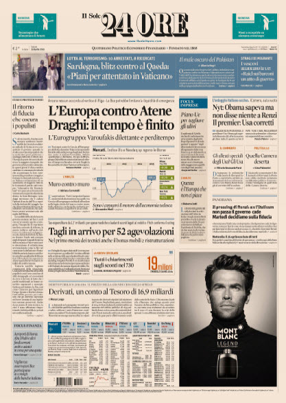 Il Sole 24 Ore - 25.04.2015 free download