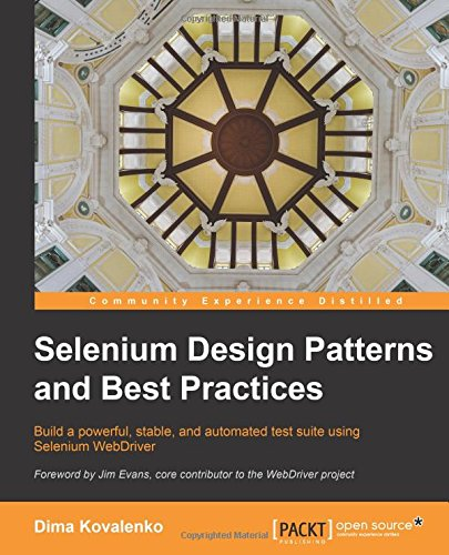 Selenium Design Patterns and Best Practices free download