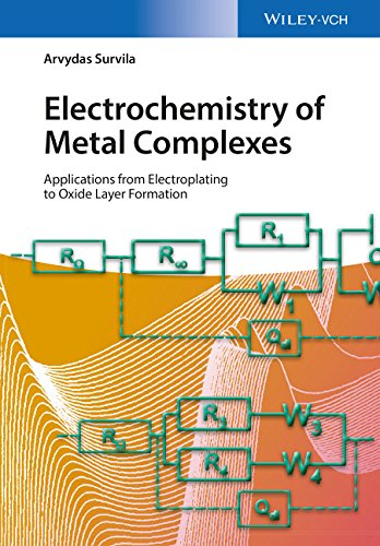 Electrochemistry of Metal Complexes: Applications from Electroplating to Oxide Layer Formation free download