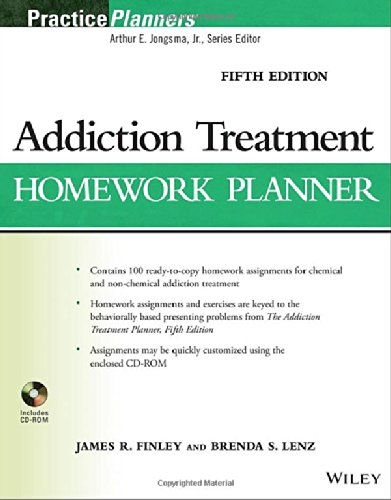 Addiction Treatment Homework Planner, 5th Edition free download