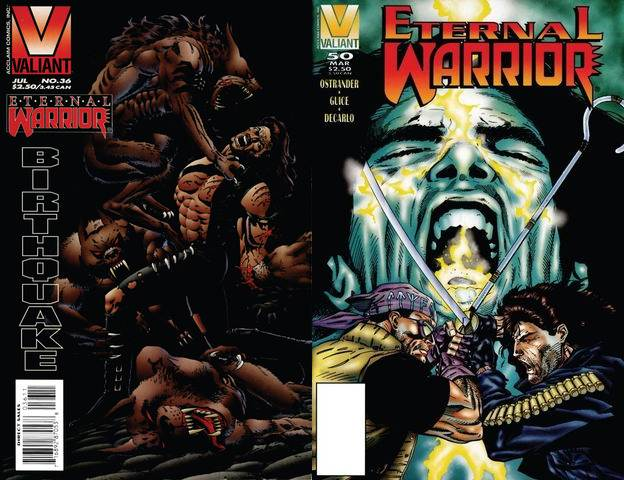Eternal Warrior #36-50 (1995-1996) free download