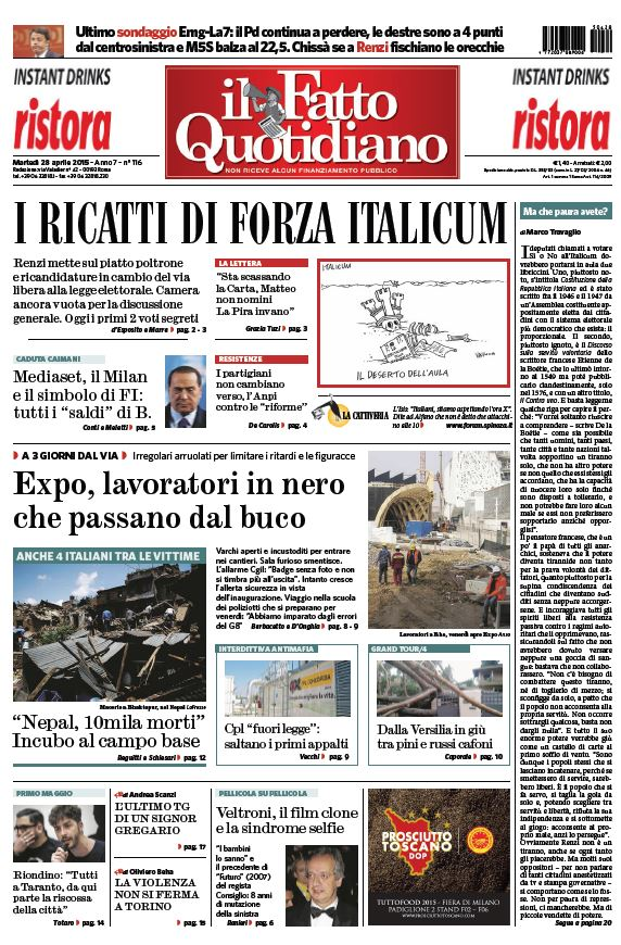 Il Fatto Quotidiano (28-04-15) free download