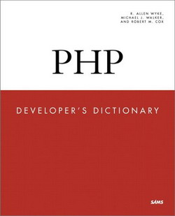 PHP Developer's Dictionary free download